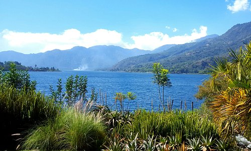 Vista desde la habitación del Lago