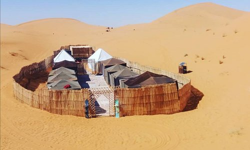 welcome to you in Dune Merzouga Camp