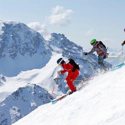 Freeski et découverte du ski hors piste sur le domaine des 3 Vallées