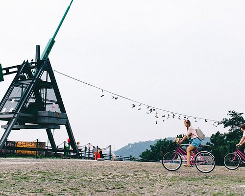 Discovering the popular Metronome and Letná park