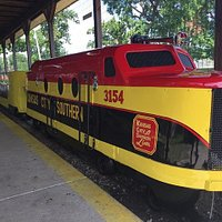 Since 1953 the train at Kiddieland has been a family favorite