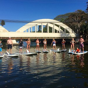 Family Stand up paddle board tour