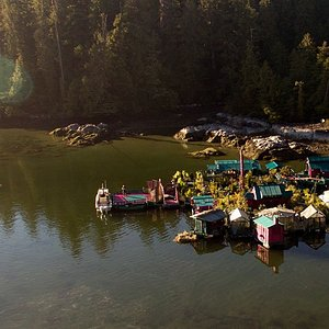 Check out our new boat supported tour to the Floating Gardens inn Freedom Cove!
