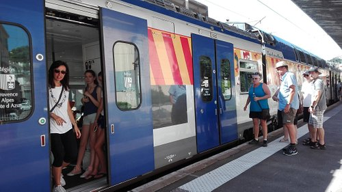 French local train