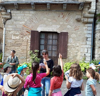 visite ludique pour les enfants et familles à Saint-Cirq Lapopie