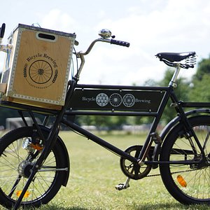 Bicycle Brewing's mobile bar