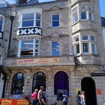 Eklektika, Swanage's Antiques Centre, right by the seafront in the old Natwest building