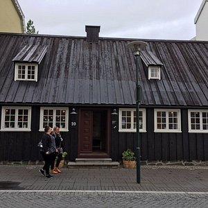 Aðalstræti 10 - oldest building in Reykjavik - museum