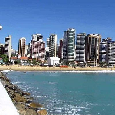 Beira Mar avenue, Fortaleza, Brazil