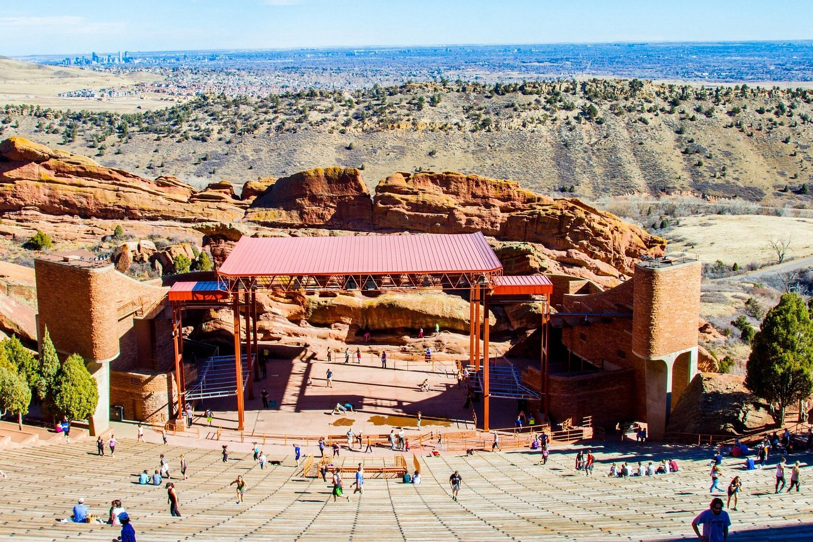 Book a private SUV to the most awesome concert venue experience... Red Rocks
