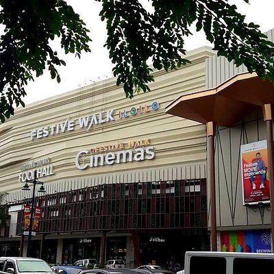 Mall seen from the outside