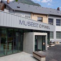 Entrée du Musée Opinel