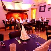 Rose and Mango restaurant interior