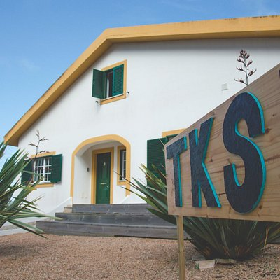 Front of the Kitesurf Lodge