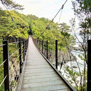橋立つり橋