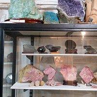 Increíble colección de piedras!