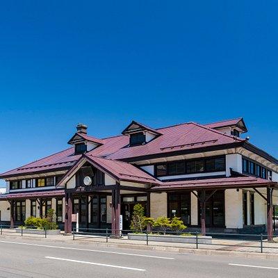 旧室蘭駅舎の外観です。