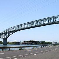 島根半島に渡ってすぐに撮った写真です。