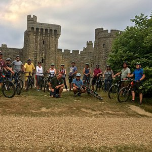 Pedal, Pint and Pizza Club at Bodiam Castle