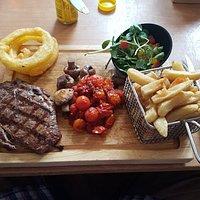 10oz rib eye steak