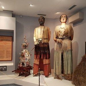 The Giants of Calabria: Grifone and Mata in the Museo di Etnografia