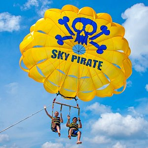 Parasailing with the Sky Pirate