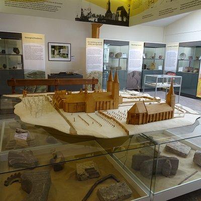 Abdijmuseum Egmond Binnen; gratis entree;di-za 12-16.30