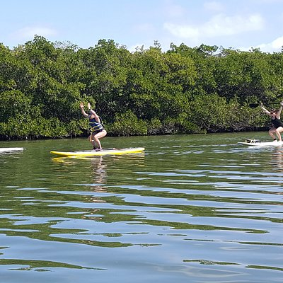 Paddle Boarding, Ft. DeSoto Park