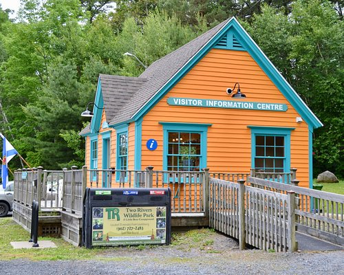 Colourful Visitor Information Centre