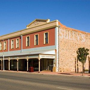 Opened in 1904 Broken Hill Regional Art Gallery is the oldest regional gallery in New South Wale