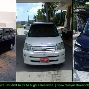 Dwayne's Taxi and Tours - Vehicles