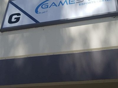 GameSync sign above the entrance