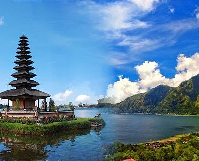 Bedugul Temple, Bali