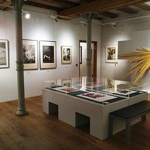 Blick in die Stiftung Christliche Kunst Wittenberg