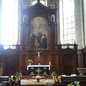 Schelfkirche von innen