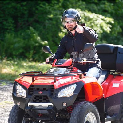 have fun on a atv tour