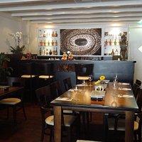 Restaurant met ongeveer 50 zitplaatsen