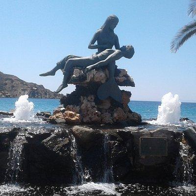Mermaid, Fisherman's ando fountain