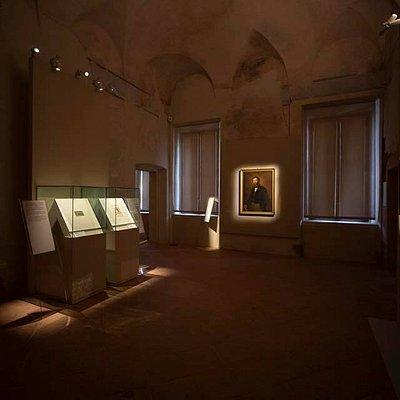 """Il XIX secolo: l'arte """"moderna"""" entra in biblioteca. Foto di Fausto Franzosi."""
