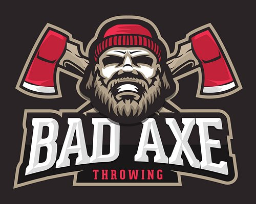 Bad Axe Throwing Logo!