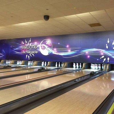 8 pistes de bowling équipées Handicapés et enfants