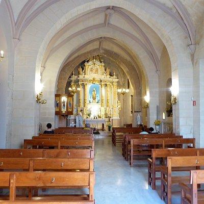 Vista general de la iglesia antigua