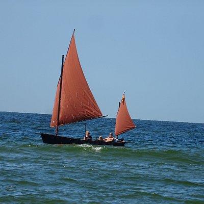 Het strand van Castricum aan Zee