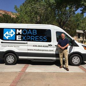 Moab Express Owner, Tom