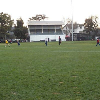 school sports in action mid-week