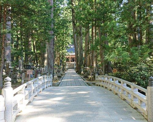 奥の院、この先に最後の町石を経て、御廟へ