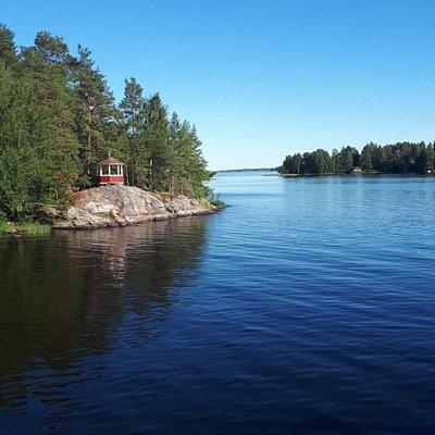 M/S Koski saaristokaupungin kanavaristeily 11.7.2018