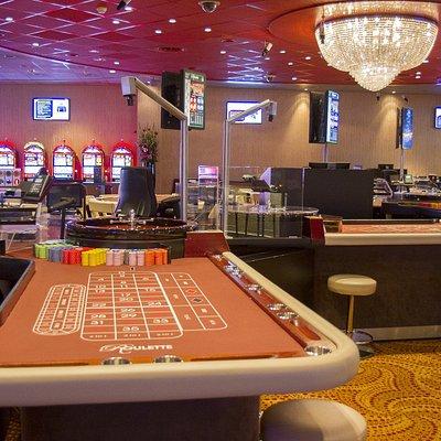 Speeltafels van Holland Casino Zandvoort.