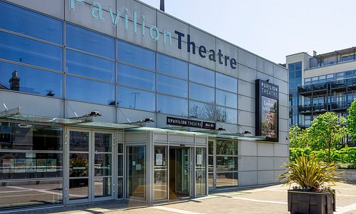 Pavilion Theatre exterior, facing Dún Laoghaire town