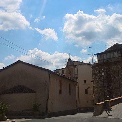 Castelchiodato, centro storico